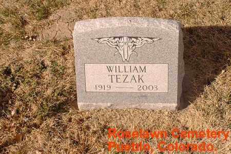 TEZAK, WILLIAM - Pueblo County, Colorado | WILLIAM TEZAK - Colorado Gravestone Photos
