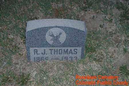 THOMAS, R. J. - Pueblo County, Colorado | R. J. THOMAS - Colorado Gravestone Photos
