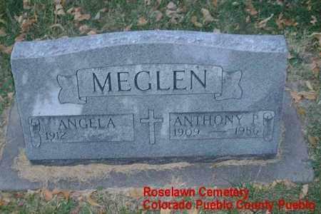 MEGLEN, ANTHONY P. - Pueblo County, Colorado | ANTHONY P. MEGLEN - Colorado Gravestone Photos