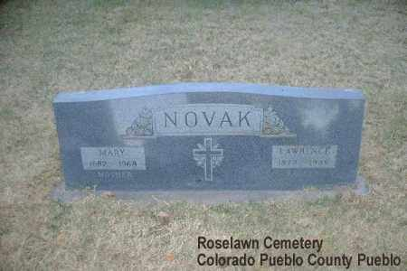 NOVAK, MARY - Pueblo County, Colorado | MARY NOVAK - Colorado Gravestone Photos