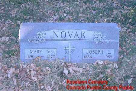 NOVAK, MARY M. - Pueblo County, Colorado | MARY M. NOVAK - Colorado Gravestone Photos