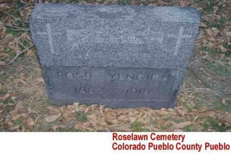 YENGICH, ROSIE - Pueblo County, Colorado   ROSIE YENGICH - Colorado Gravestone Photos