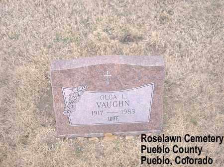 VAUGHN, OLGA L. - Pueblo County, Colorado | OLGA L. VAUGHN - Colorado Gravestone Photos