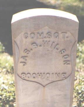 WILSON, JAS. B. - Pueblo County, Colorado | JAS. B. WILSON - Colorado Gravestone Photos