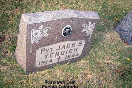 YENGICH, JACK S. - Pueblo County, Colorado   JACK S. YENGICH - Colorado Gravestone Photos