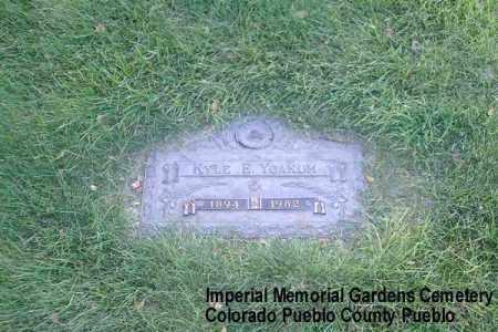 YOAKUM, KYLE E. - Pueblo County, Colorado | KYLE E. YOAKUM - Colorado Gravestone Photos