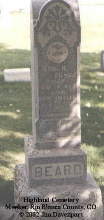 BEARD, JERM. H. - Rio Blanco County, Colorado | JERM. H. BEARD - Colorado Gravestone Photos
