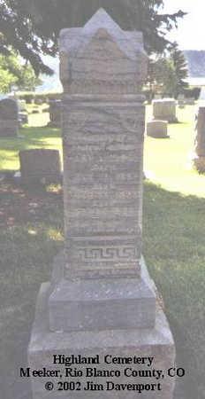 NIBLOCK, HARY - Rio Blanco County, Colorado   HARY NIBLOCK - Colorado Gravestone Photos