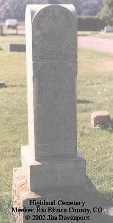 REDPATH, HENRY LAROY - Rio Blanco County, Colorado   HENRY LAROY REDPATH - Colorado Gravestone Photos