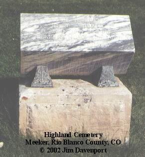 REDPATH, TEMPERANCE A. - Rio Blanco County, Colorado   TEMPERANCE A. REDPATH - Colorado Gravestone Photos