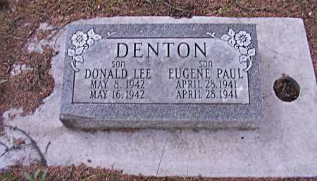 DENTON, DONALD LEE - Rio Grande County, Colorado | DONALD LEE DENTON - Colorado Gravestone Photos