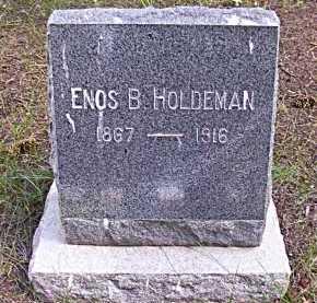 HOLDEMAN, ENOS BUELL - Rio Grande County, Colorado | ENOS BUELL HOLDEMAN - Colorado Gravestone Photos