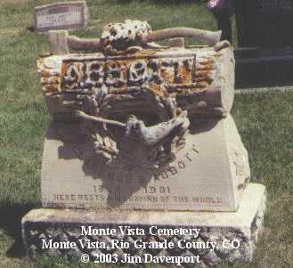 ABBOTT, CLARENCE B. - Rio Grande County, Colorado | CLARENCE B. ABBOTT - Colorado Gravestone Photos