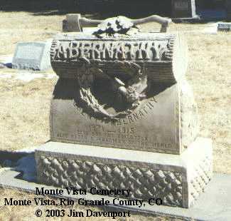 ABERNATHY, ALBERT - Rio Grande County, Colorado | ALBERT ABERNATHY - Colorado Gravestone Photos