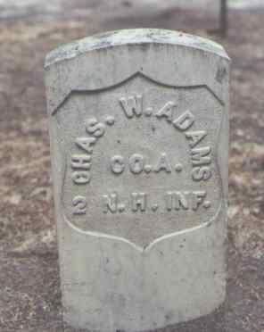 ADAMS, CHAS. W. - Rio Grande County, Colorado | CHAS. W. ADAMS - Colorado Gravestone Photos