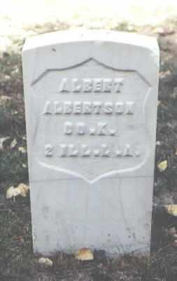 ALBERTSON, ALBERT - Rio Grande County, Colorado | ALBERT ALBERTSON - Colorado Gravestone Photos