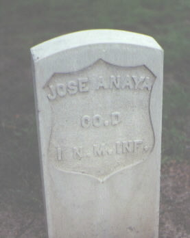 ANAYA, JOSE - Rio Grande County, Colorado | JOSE ANAYA - Colorado Gravestone Photos