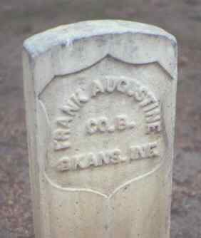 AUGUSTINE, FRANK - Rio Grande County, Colorado | FRANK AUGUSTINE - Colorado Gravestone Photos