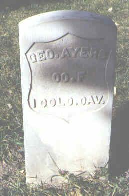 AYERS, GEO. - Rio Grande County, Colorado   GEO. AYERS - Colorado Gravestone Photos