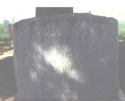 BAILEY, BEN - Rio Grande County, Colorado | BEN BAILEY - Colorado Gravestone Photos