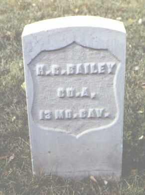 BAILEY, H. G. - Rio Grande County, Colorado | H. G. BAILEY - Colorado Gravestone Photos