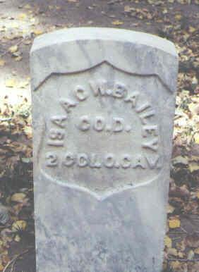 BAILEY, ISAAC W. - Rio Grande County, Colorado | ISAAC W. BAILEY - Colorado Gravestone Photos