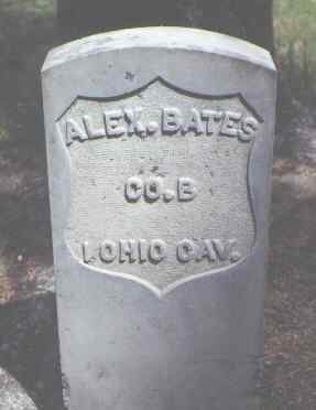 BATES, ALEX. - Rio Grande County, Colorado   ALEX. BATES - Colorado Gravestone Photos