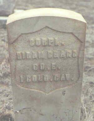 BRAGG, HIRAM - Rio Grande County, Colorado | HIRAM BRAGG - Colorado Gravestone Photos
