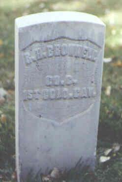 BROWNELL, R. H. - Rio Grande County, Colorado | R. H. BROWNELL - Colorado Gravestone Photos