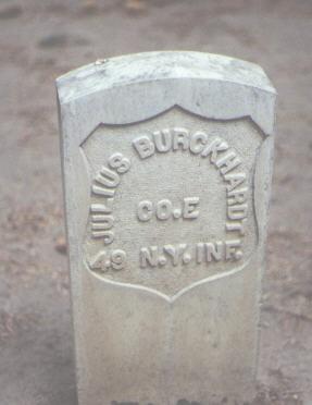 BURCKHARDT, JULIUS - Rio Grande County, Colorado | JULIUS BURCKHARDT - Colorado Gravestone Photos