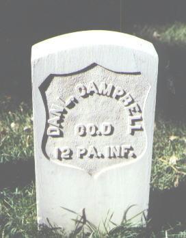 CAMPBELL, DAN'L. - Rio Grande County, Colorado   DAN'L. CAMPBELL - Colorado Gravestone Photos