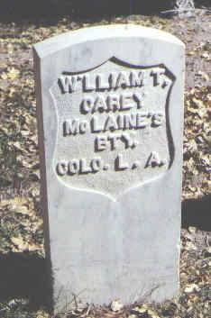 CAREY, WILLIAM T. - Rio Grande County, Colorado | WILLIAM T. CAREY - Colorado Gravestone Photos