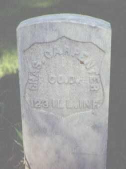 CARPENTER, CHAS. - Rio Grande County, Colorado   CHAS. CARPENTER - Colorado Gravestone Photos
