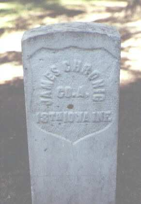 CHRONIC, JAMES - Rio Grande County, Colorado   JAMES CHRONIC - Colorado Gravestone Photos