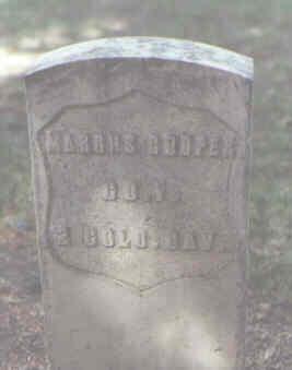 COOPER, MARCUS - Rio Grande County, Colorado   MARCUS COOPER - Colorado Gravestone Photos