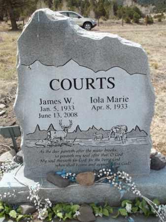 DOUGHERTY COURTS, IOLA MARIE - Rio Grande County, Colorado | IOLA MARIE DOUGHERTY COURTS - Colorado Gravestone Photos