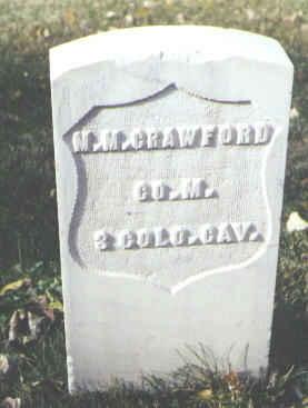 CRAWFORD, M. M. - Rio Grande County, Colorado   M. M. CRAWFORD - Colorado Gravestone Photos