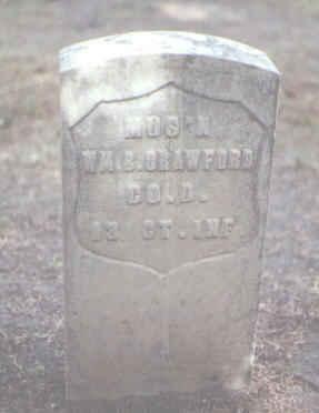 CRAWFORD, WM. B. - Rio Grande County, Colorado | WM. B. CRAWFORD - Colorado Gravestone Photos