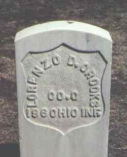 CROOKS, LORENZO D. - Rio Grande County, Colorado | LORENZO D. CROOKS - Colorado Gravestone Photos
