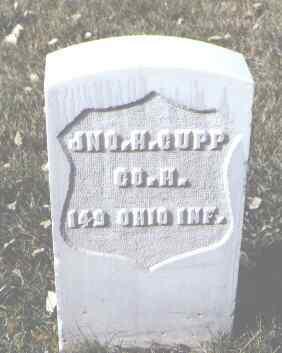 CUPP, JNO. H. - Rio Grande County, Colorado   JNO. H. CUPP - Colorado Gravestone Photos