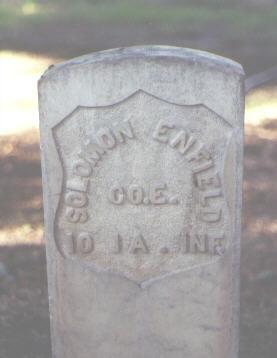 ENFIELD, SOLOMON - Rio Grande County, Colorado | SOLOMON ENFIELD - Colorado Gravestone Photos