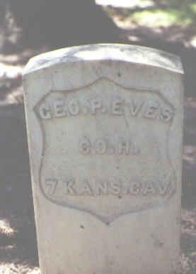 EVES, GEO. P - Rio Grande County, Colorado | GEO. P EVES - Colorado Gravestone Photos