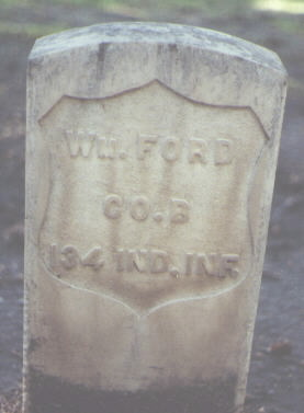 FORD, WM. - Rio Grande County, Colorado | WM. FORD - Colorado Gravestone Photos