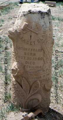 FRANK, ANTON B. - Rio Grande County, Colorado   ANTON B. FRANK - Colorado Gravestone Photos