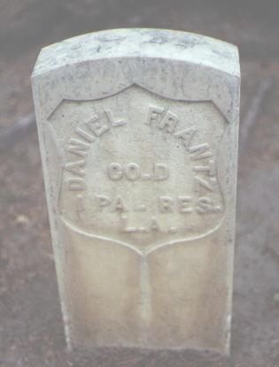 FRANTZ, DANIEL - Rio Grande County, Colorado | DANIEL FRANTZ - Colorado Gravestone Photos