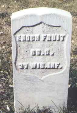 FRUIT, ENOCH - Rio Grande County, Colorado   ENOCH FRUIT - Colorado Gravestone Photos