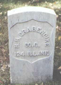GRABENDIKE, H. H. - Rio Grande County, Colorado | H. H. GRABENDIKE - Colorado Gravestone Photos