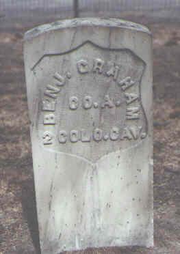 GRAHAM, BENJ. - Rio Grande County, Colorado | BENJ. GRAHAM - Colorado Gravestone Photos