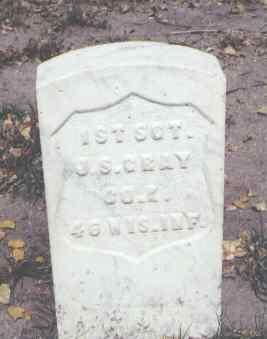 GRAY, J. S. - Rio Grande County, Colorado   J. S. GRAY - Colorado Gravestone Photos