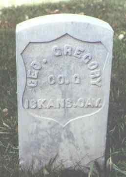 GREGORY, GEO. - Rio Grande County, Colorado   GEO. GREGORY - Colorado Gravestone Photos